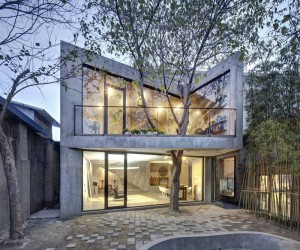 Tea House by Archi-Union Architects, Shanghai, China