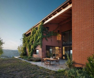 Country House in Val Tidone, Italy by Park Associati