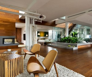 Contemporary Penthouse on Broadway in Manhattan