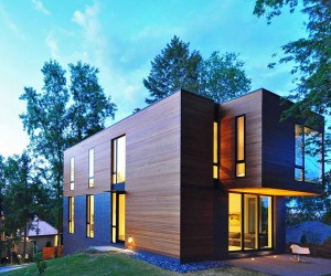 Compact Contemporary Family Home in Madison, Wisconsin