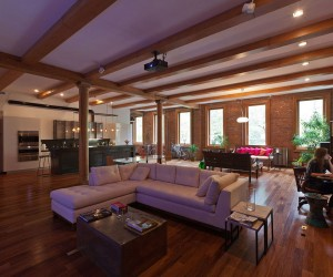 Loft in NOHO, New York City by JENDRETZKI