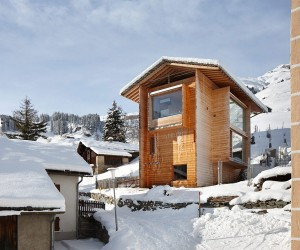 Zumthor Vacation Homes in Leis, Switzerland