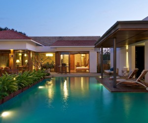 Delightful Outdoor Living Space: Anish Amin House in Alibaug, India