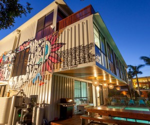 Shipping Container Home in Brisbane, Queensland