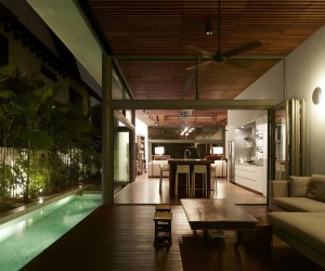 Warm and Inviting Entertainment Space: Acoustic Alchemy in Singapore