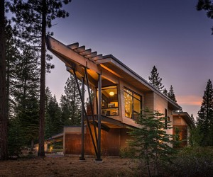 Modern Mountain Home in Truckee, California