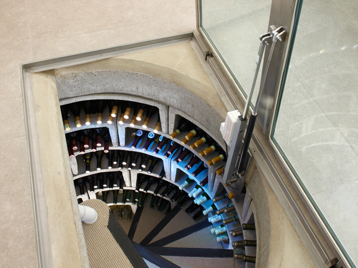 Spiral Cellars with LED Lighting