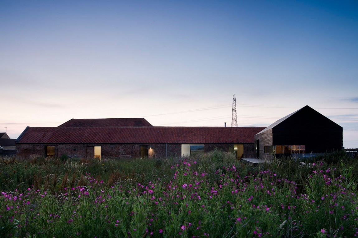 Ochre Barn by Carl Turner Architects