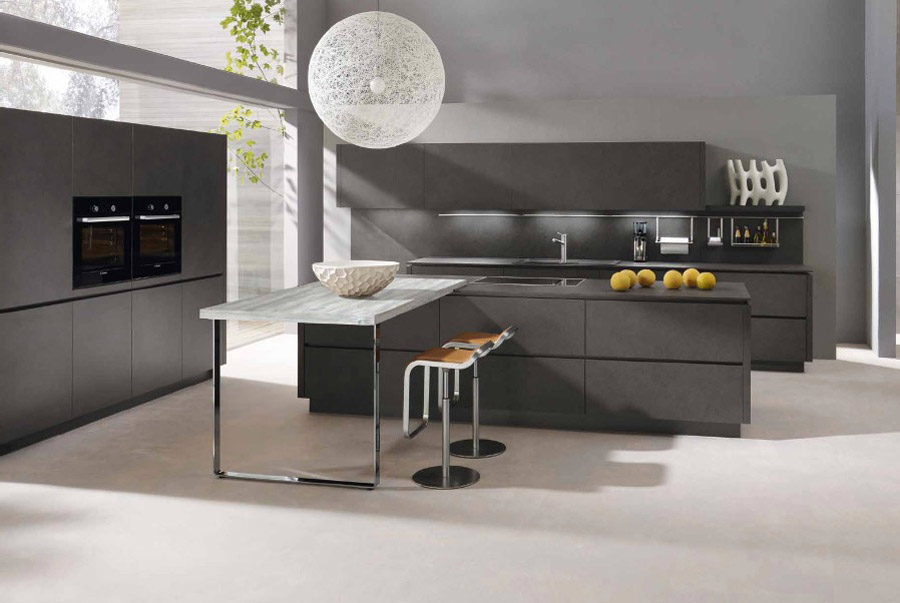 Alno Kitchen with Ball Lighting