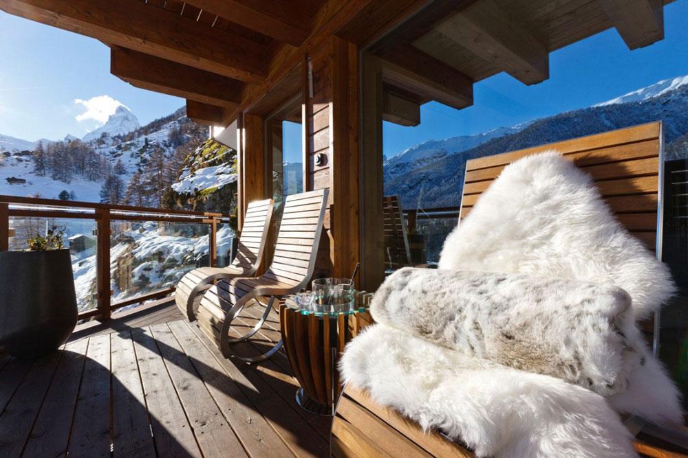 Deck, Chalet Zermatt Peak