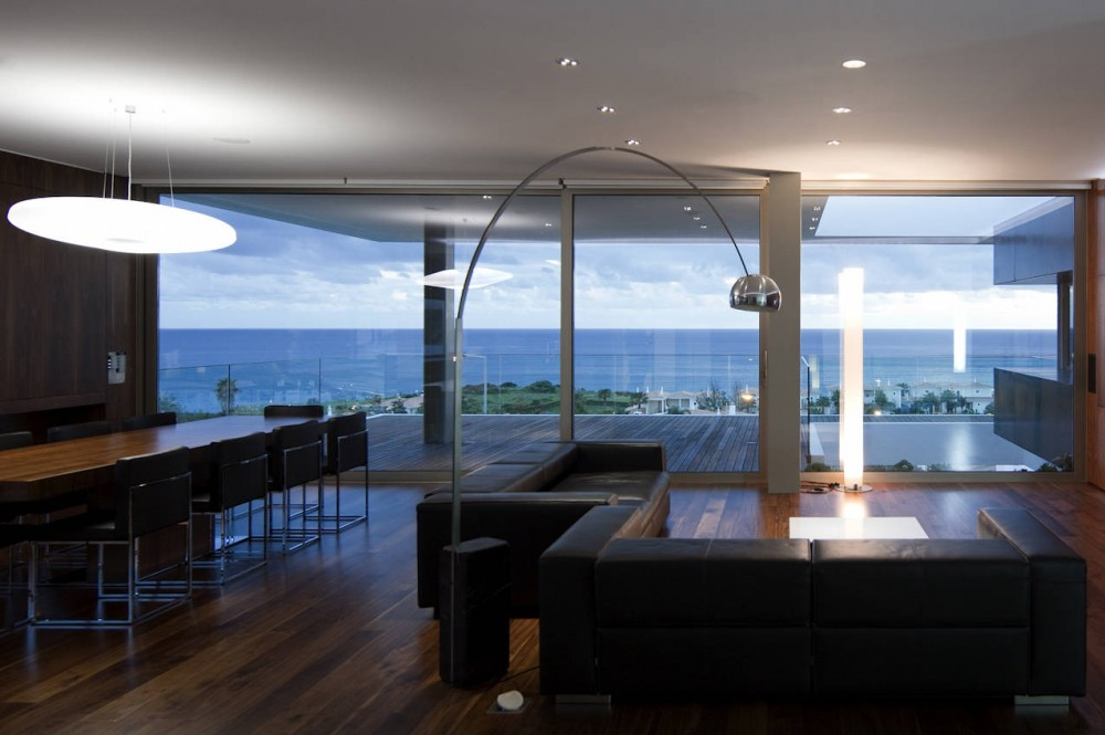 Spectacular views from the dining / living space, House In Lagos