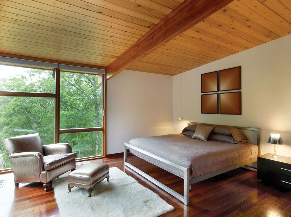 Bedroom, Hudson Valley Country House