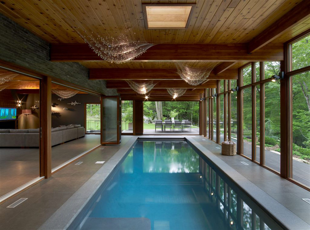 Hudson valley country house by fractal construction for Mansion plans with indoor pool