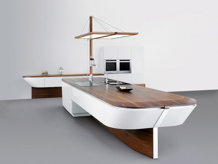 Marecucina Boat Shaped Kitchen