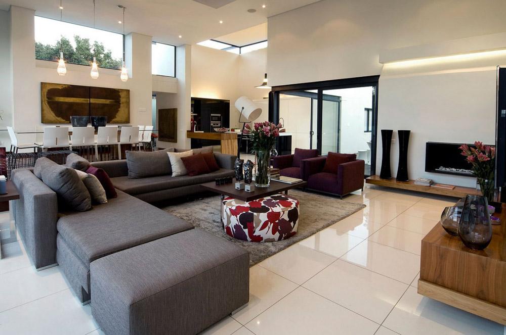 Living Room - Moss Oaklands Residence