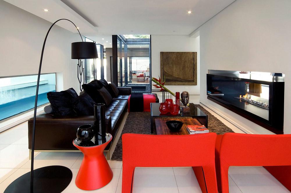 Living Space - Moss Oaklands Residence