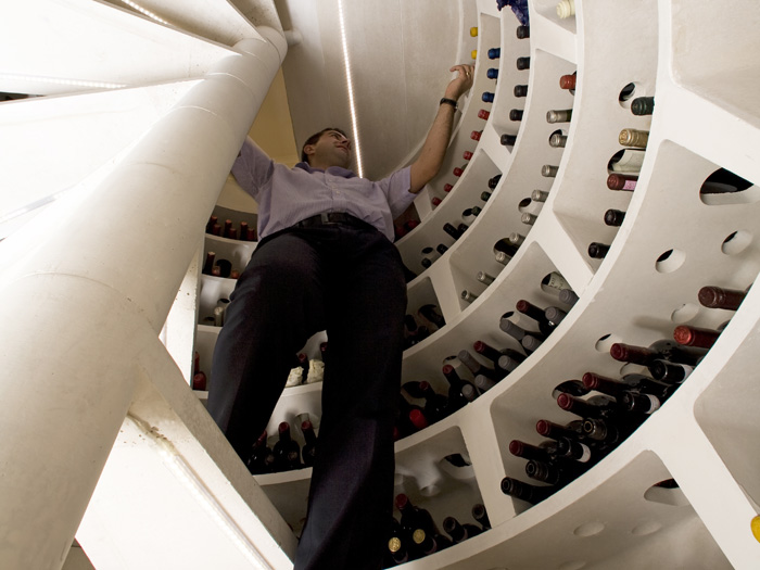 Spiral Cellars Stairs
