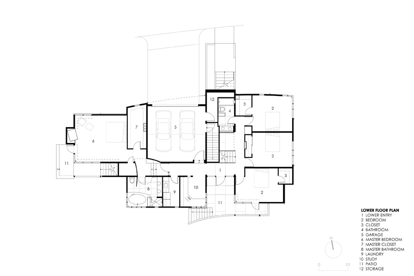 Lower Floor Plans, Strathmoor House