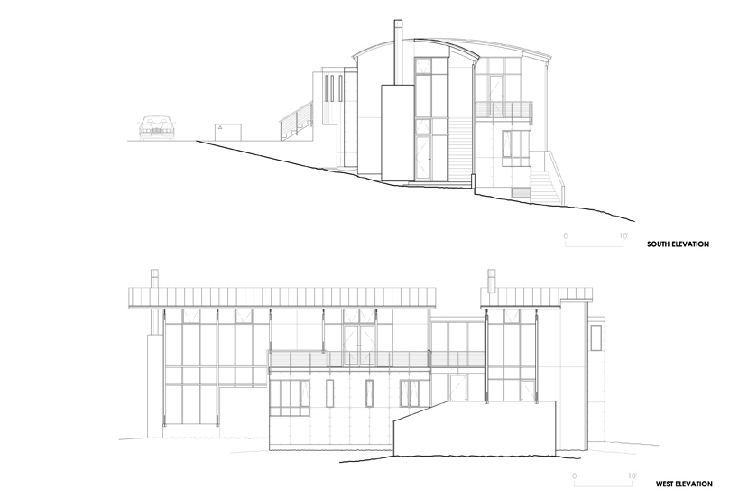 Exterior Plans, Strathmoor House