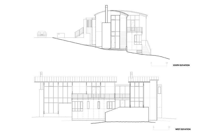 Exterior Plans, Strathmoor House