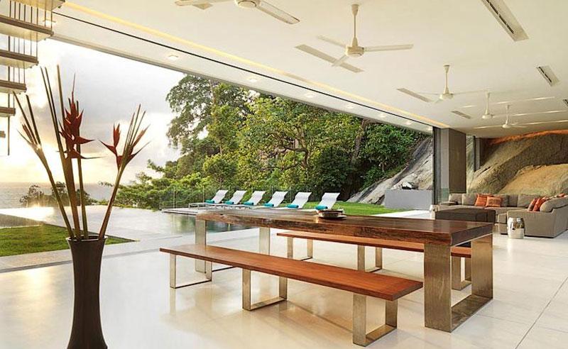 Villa Amanzi, open living