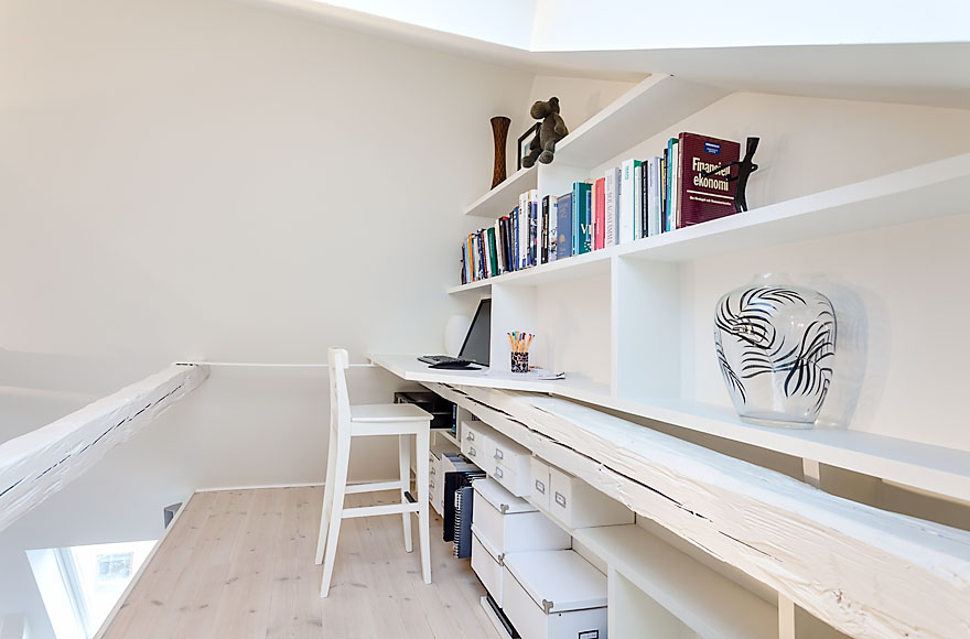 Office Space, Attic Penthouse in Stockholm