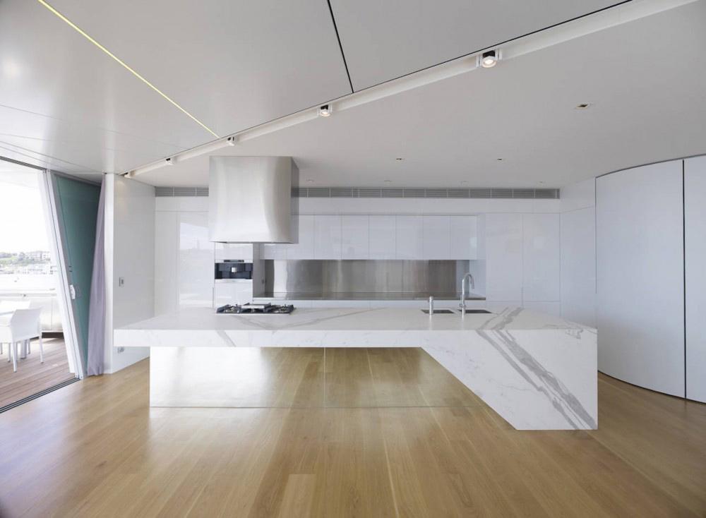 Kitchen, Bondi Penthouse by MPR Design Group