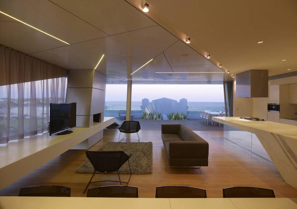 Living Space, Bondi Penthouse by MPR Design Group