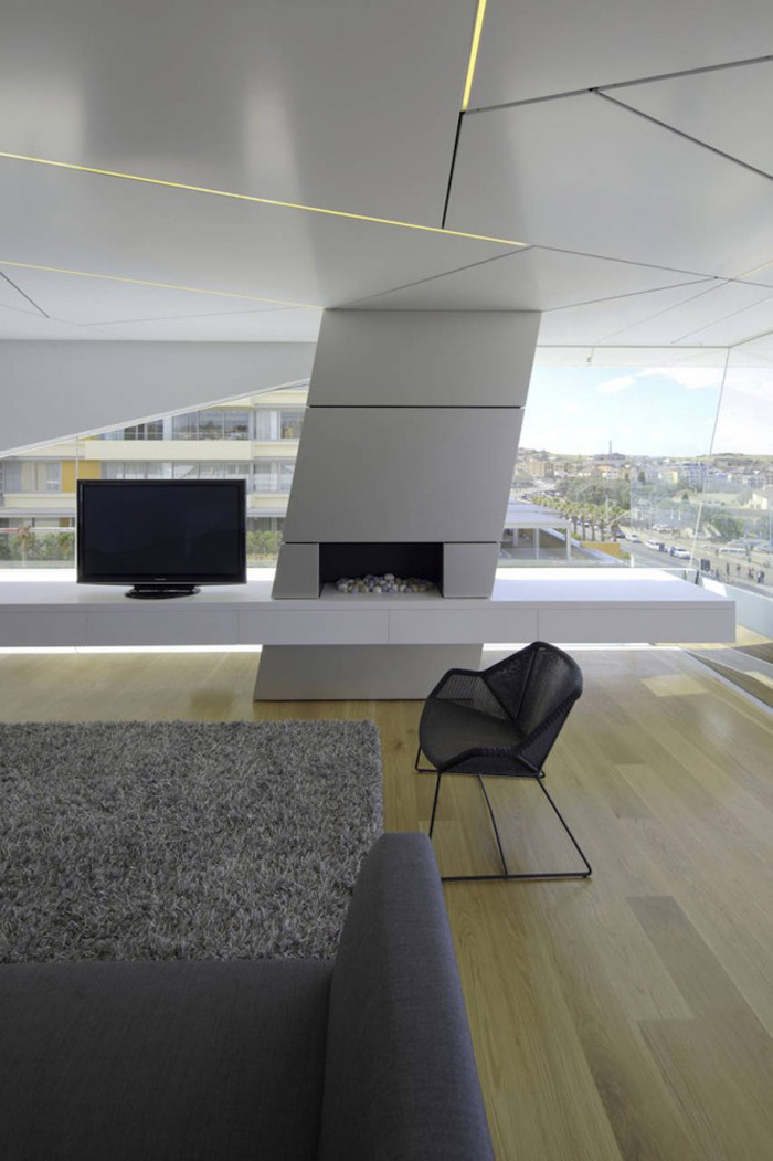 Living Space, Bondi Penthouse by MPR Design Group