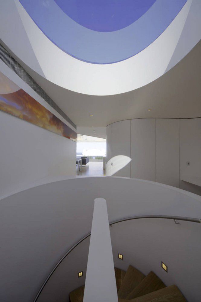 Stairs, Bondi Penthouse by MPR Design Group