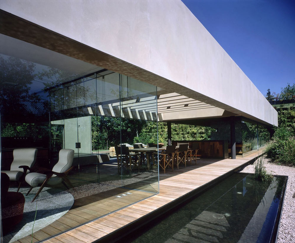 Glass Walls, Casa Reforma by Central de Arquitectura