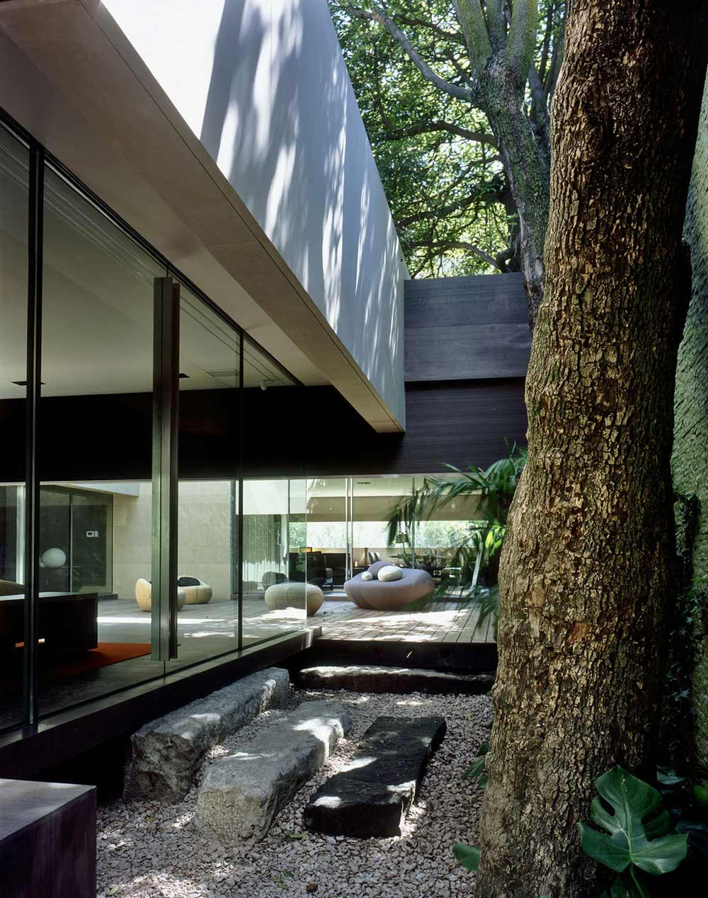 Glass Walls, Casa Reforma by Central de Arquitectura