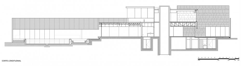 Plan, Casa Reforma by Central de Arquitectura