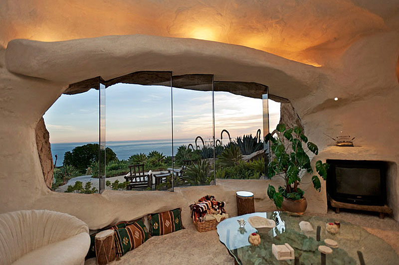 Flintstone Style House in Malibu