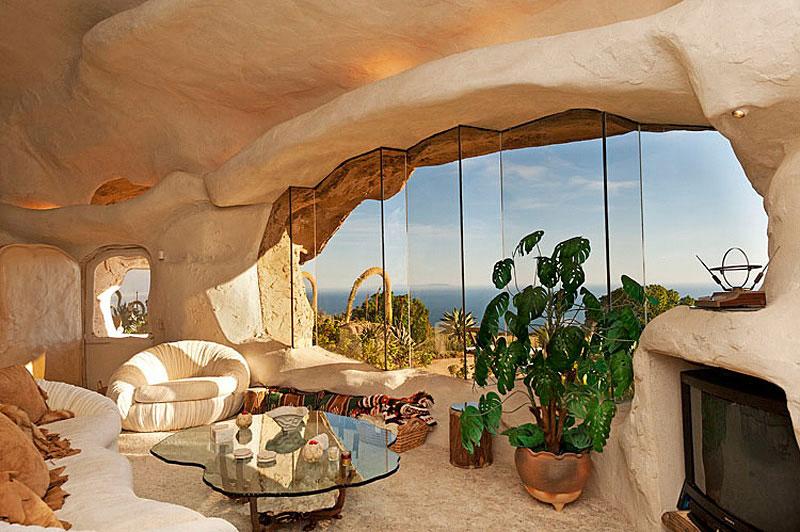 Flintstone Style House in Malibu