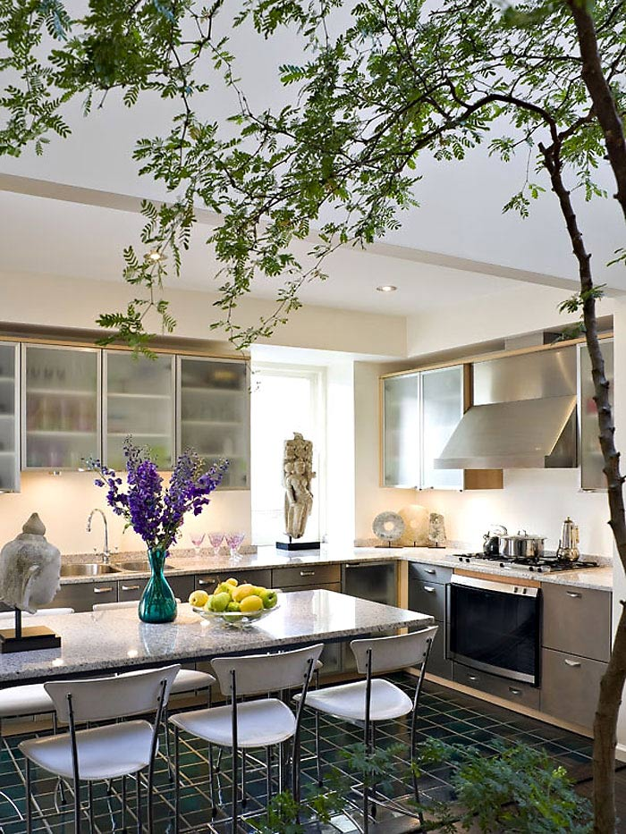 Kitchen, Duplex Penthouse Loft in Chelsea, New York City