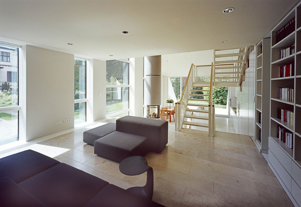 Living Space, Haus W by Pott Architects