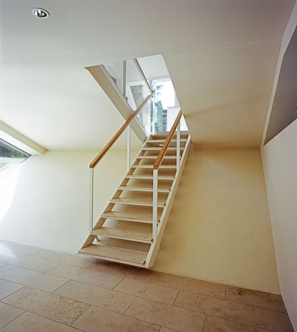 Stairs, Haus W by Pott Architects