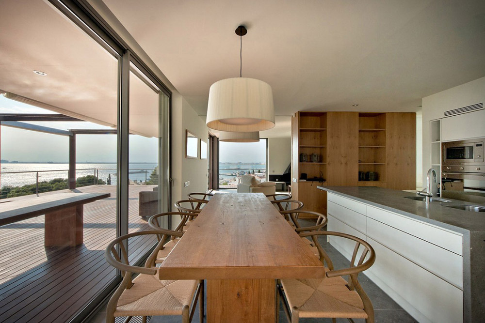 Dining Room, House V in the Costa Brava by Magma Arquitectura