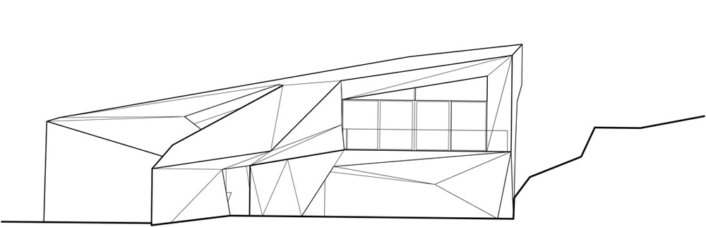 Plan, Klein Bottle House by McBride Charles Ryan
