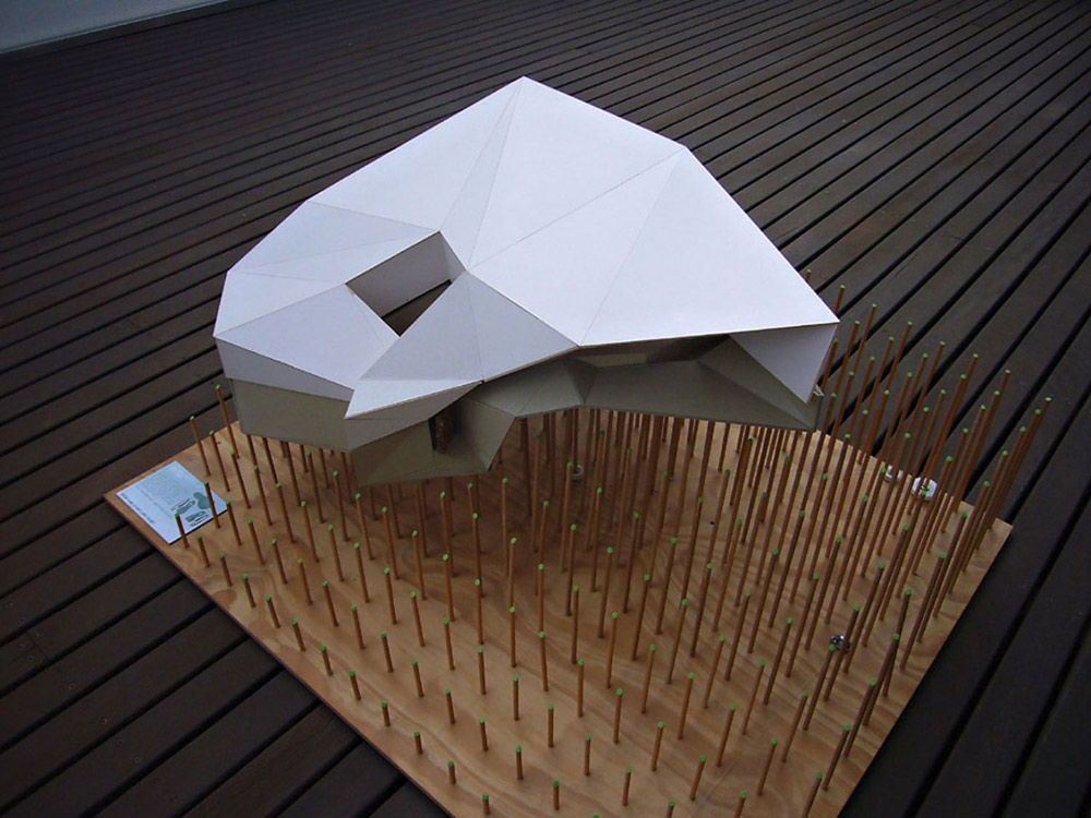 Model, Klein Bottle House by McBride Charles Ryan