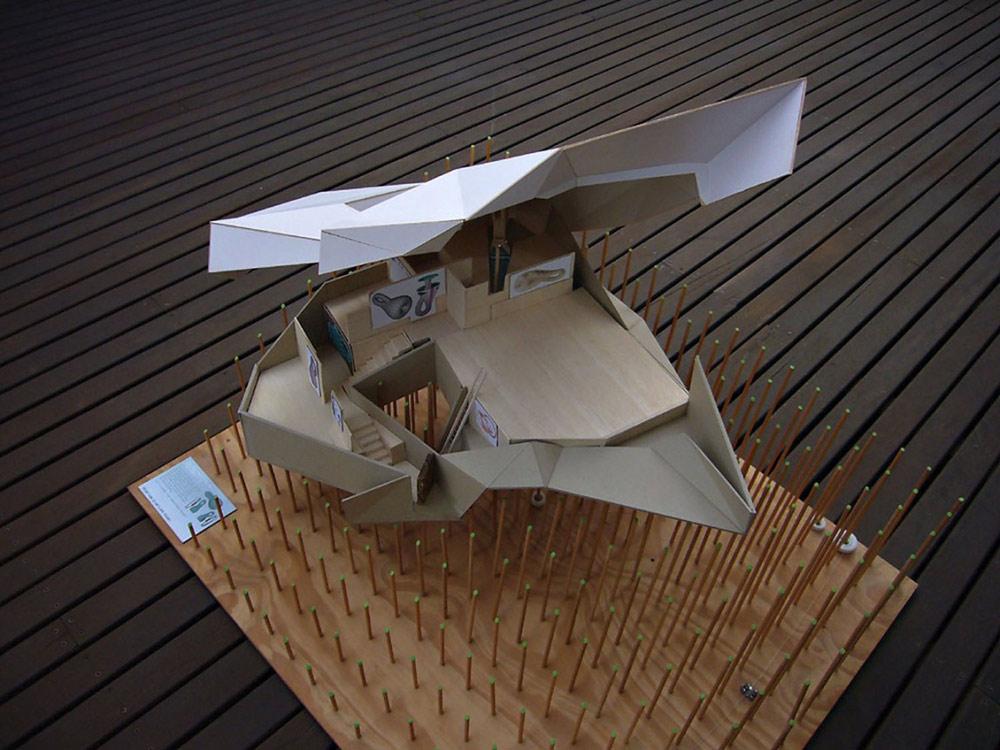 Model, Klein Bottle House by McBride Charles Ryan