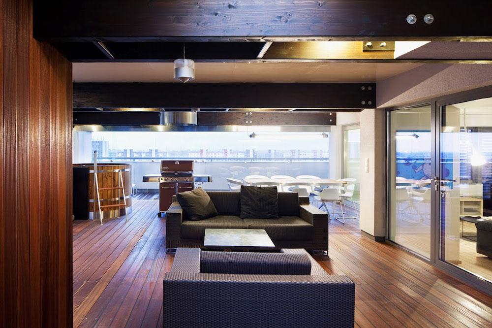 Living Space, Loft in Bratislava by Atelier SAD