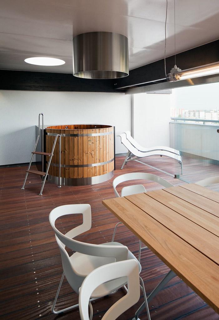 Loft in Bratislava by Atelier SAD