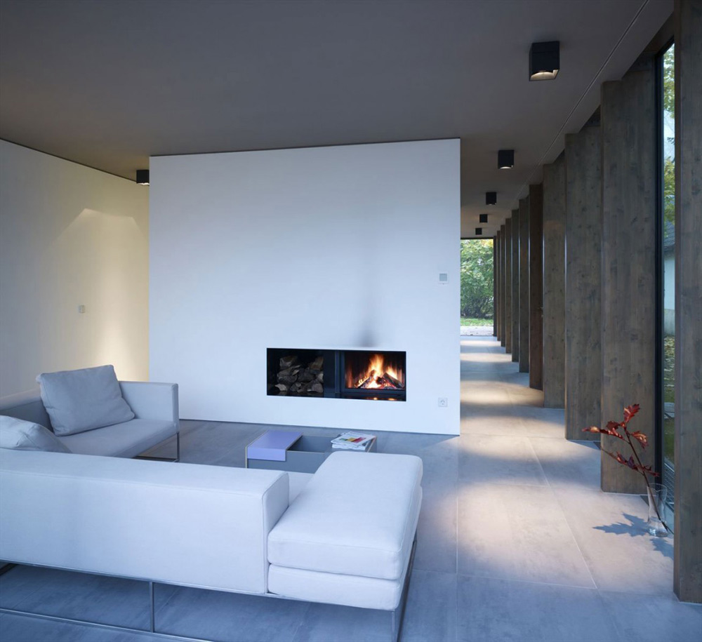 Living Space, Minimum House by Scheidt Kasprusch Architekten