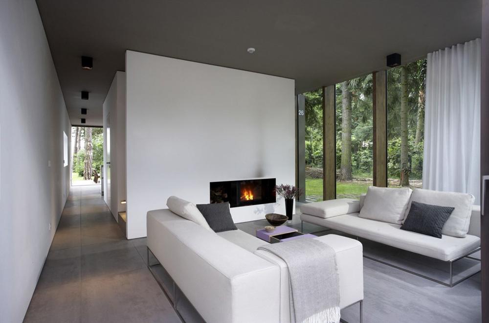 Living Space, Minimum House by Scheidt Kasprusch Architekten