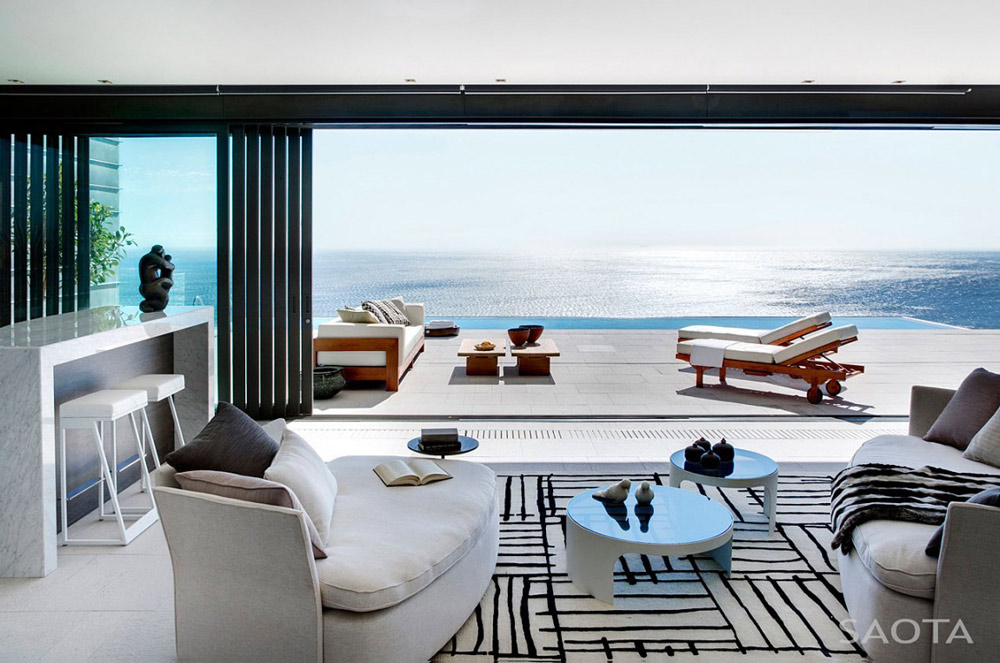 Terrace , Nettleton 199 by SAOTA and OKHA Interiors
