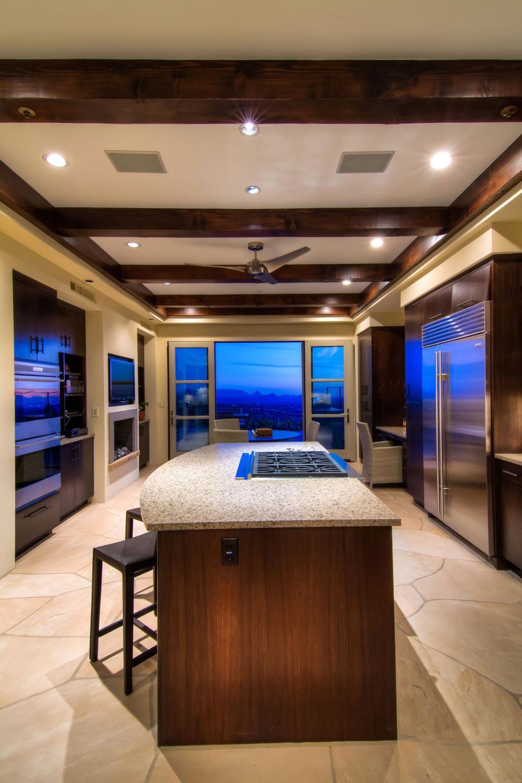 Kitchen, Shanholt Residence by Brissette Architects