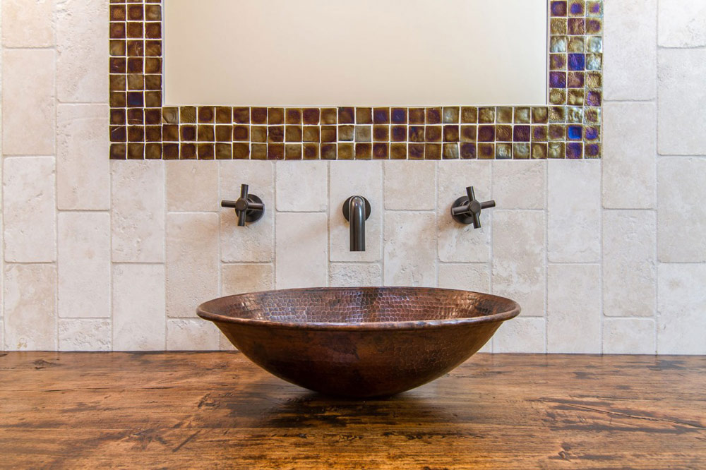 Bathroom, Shanholt Residence by Brissette Architects