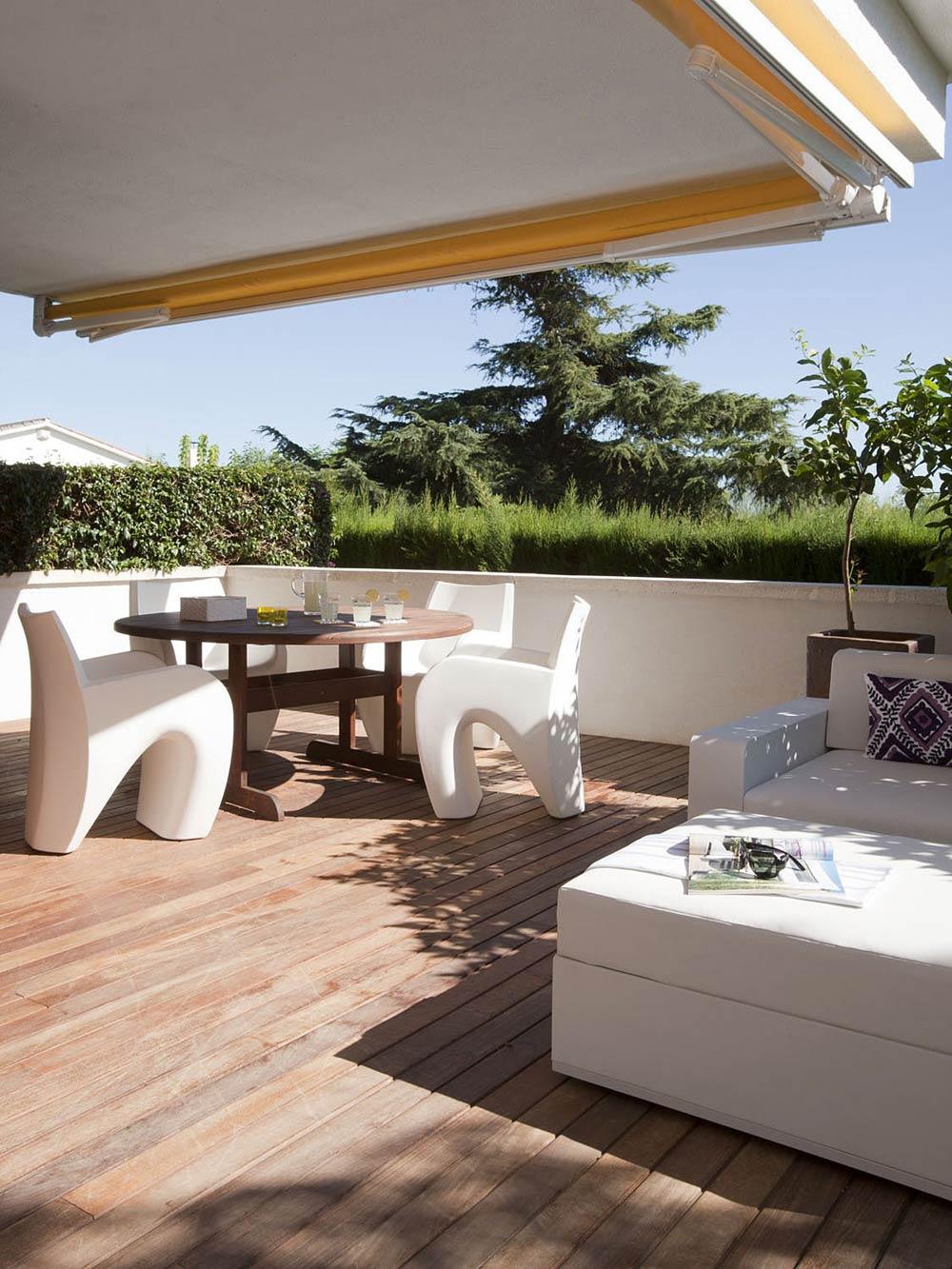 Terrace, Vivienda en Llaveneres by Susanna Cots